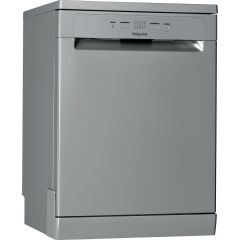 Hotpoint HFC2B19XUKN, 13 Place, A+, Freestanding Dishwasher, Stainless Steel