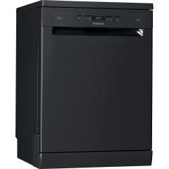 Hotpoint HFC3C26WCB, 14 Place Settings, Full Size Dishwasher, Black