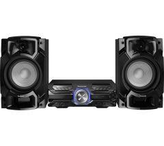 Panasonic SC-AKX520E-K , 650W, High Power Audio System with Bluetooth, Black