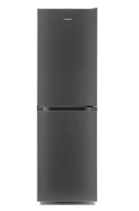 Hoover HMCL5172XIN, 176 x 54cm, Fridge Freezer, Silver
