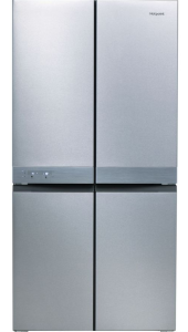 Hotpoint, HQ9E1L, American Style, No Frost, Fridge Freezer, Stainless Steel