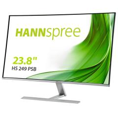 "Hannspree HS249PSB, 23.8"", 60Hz, VA Monitor with Audio, Silver"