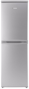 Hoover HSC574S, 175 X 55CM, Freestanding, Fridge Freezer, Silver