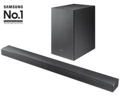 Samsung HWT550XU, 2.1ch Soundbar with Wireless Subwoofer & Virtual DTS:X