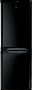 Indesit IBD5515B, 157 x 55cm, Fridge Freezer, Black