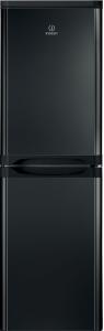 Indesit IBD5517B, 174 x 55cm, 50/50 Fridge Freezer, Black