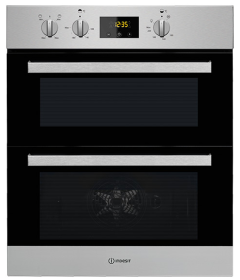Indesit IDU6340IX, Built Under, Double Oven, Stainless Steel