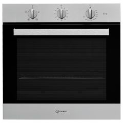 Indesit IFW6330IX, Manual, Built In Single Oven, Stainless Steel
