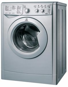 Indesit IWDC6125S, 6kg, 1200 Spin, Freestanding, Washer Dryer, Silver