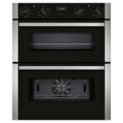 Neff J1ACE2HN0B Built-Under Double Oven - Black W/Steel