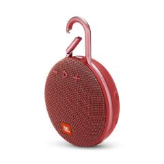 JBL JBLCLIP3RED, CLIP3, Portable Bluetooth Speaker, Red