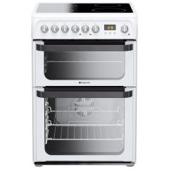 Hotpoint JLE60P, Signature Electric Cooker, White