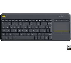 Logitech K400, Plus Wireless Keyboard W/ Trackpad, Dark Grey