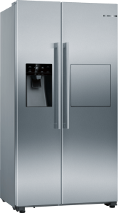 Bosch KAG93AIEPG, Serie 6, American Fridge Freezer, Stainless Steel Effect