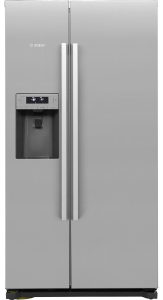 Bosch KAI90VI20G, American Style Fridge Freezer, Stainless Steel
