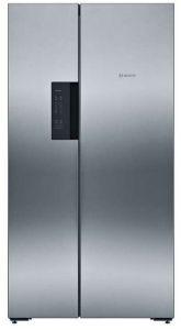 Bosch KAN92VI35, American Style Fridge Freezer, 91cm Wide, Steel