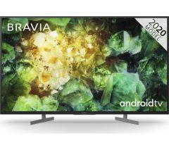 "Sony Bravia KD43XH8196BU, 43"", 4K UHD, Smart HDR LED TV W/ Google Assistant"