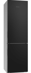 Miele KFN29233DBB, A+++, 70/30, Frost Free Fridge Freezer, Black