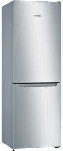 Bosch KGN33NL3AG, 176 X 60 cm, No Frost, Freestanding, Fridge Freezer, Stainless Steel