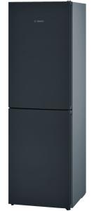 Bosch KGN34VB35G, 186 x 60cm, Freestanding, Fridge Freezer, Black