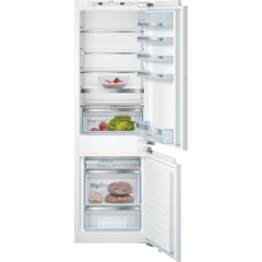 Bosch KIS86AFE0G, Serie 6, 60/40, A++, Integrated Fridge Freezer, White