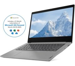 "Lenovo 81W3002SUK, 15.6"", Ryzen 3, 4GB/128GB, Laptop"