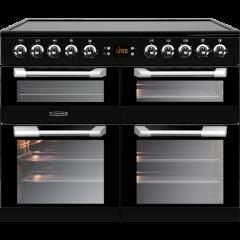 Leisure CS100C510K, 100CM, All Electric, Range Cooker, Black