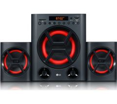 LG LK72B, XBOOM, 40W, Bluetooth Hi-Fi System, Black