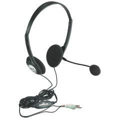 Mahattan 164429, Stereo, Headset + Microphone