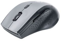 Manhattan 179379, Curve Wireless Mouse, Black/Grey
