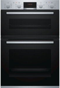 Bosch MBS533BS0B Double Oven - Brushed Steel