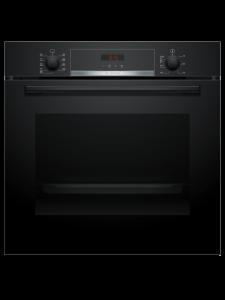 Bosch HBS573BB0B, Multifunctional Single Oven, Black