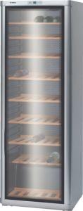 Bosch KSW30V81GB, 185 x 60cm, 120 Bottles, Wine Cooler, Stainless Steel