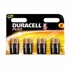 Duracell MN1500B8, Plus, Batteries, AA (8pcs.)