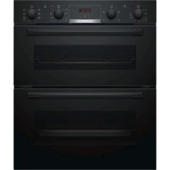 Bosch NBS533BB0B, Electric Built-under Double Oven, Black