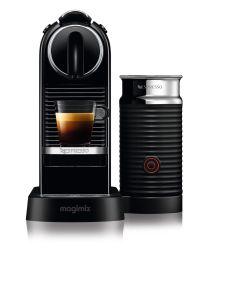 Magimix 11317B, Citz Coffee Machine + Aerocinno, Black