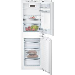 Bosch KIN85AFE0G, Serie 6, NoFrost, Integrated 50/50 Fridge Freezer, White