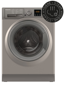 Hotpoint NSWM743UGG, 7KG, 1400RPM, Washing Machine, Graphite