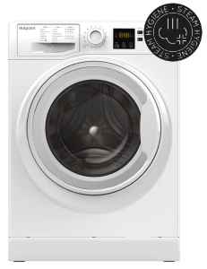 Hotpoint NSWM743UW, 7KG, 1400RPM, Washing Machine, White
