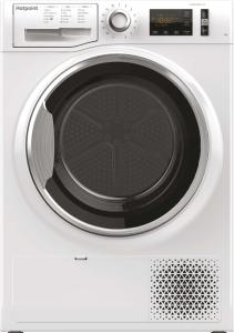 Hotpoint NTM1081WK, 8KG, Condenser Tumble Dryer with Heat Pump, White