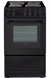 Newworld NW50ESBLK, 50cm, Freestanding Electric Cooker, Black
