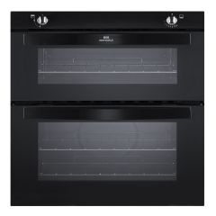 NewWorld NW701DOBLK, Built Under, Double Oven, Black