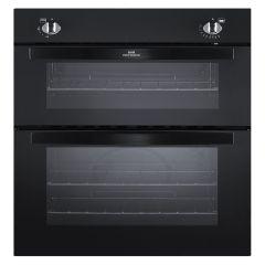 NewWorldNW901DOBLK. Double Oven, Black