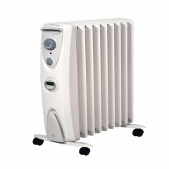 Dimplex OFRC20NTI, Oil Free, 2kW, Radiator with Timer, White