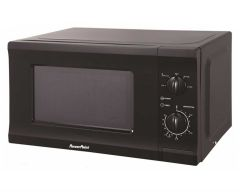 Powerpoint P22720CPMBL, 700 Watt. Microwave, Black