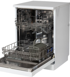 Powerpoint P24510M6WH, 10 Place, 45cm, Slimline Dishwasher, White