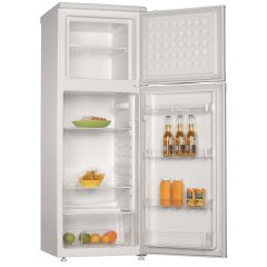 Powerpoint P75562ML1W, 143 x 55 cm, 6/2, Freestanding, Fridge Freezer, White
