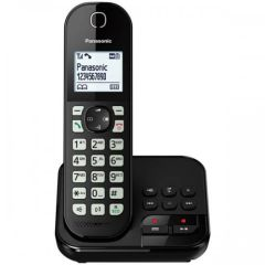 Panasonic KXTGC460EB, Digital Cordless Phone w/Dock