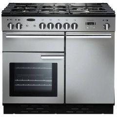 Rangemaster PROP100ECSSC, Professional+ 100, All Electric, Range Cooker, Stainless Steel