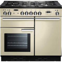 Rangemaster PROP100NGFCRC, Professional+ 100, Natural Gas, Range Cooker, Cream